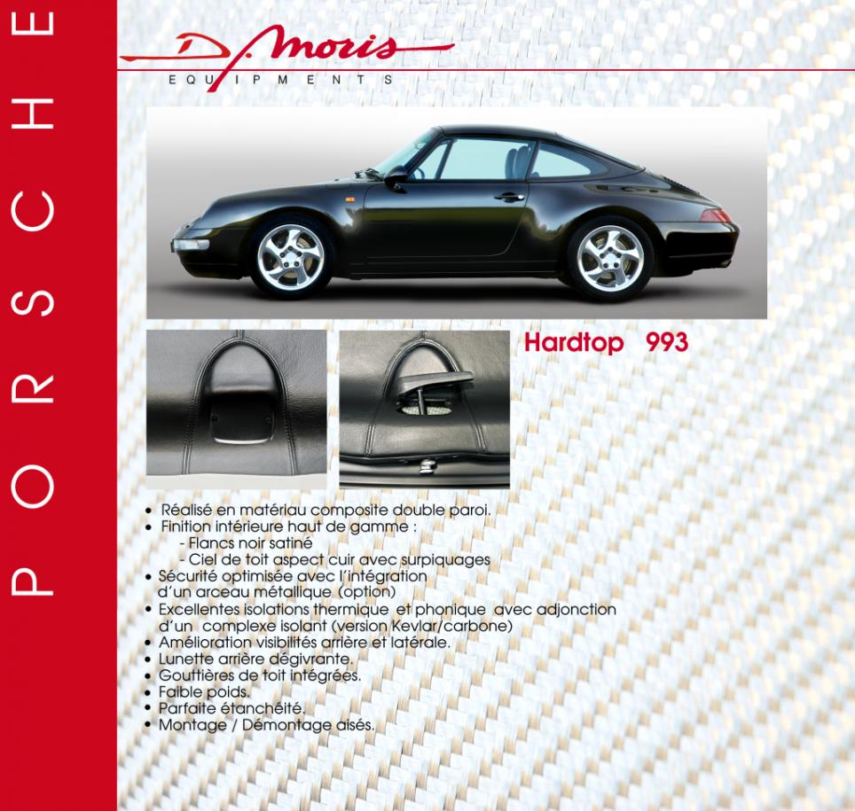 Hardtop 911 964 993 D Moris Styling